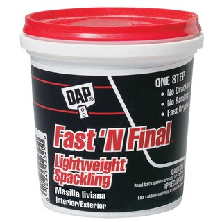 Dap 12141 Pint Fast'N Final Spackling Interior & Exterior