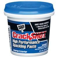 Dap 12374 1/2 Pint CrackShot Spackling Interior/Exterior
