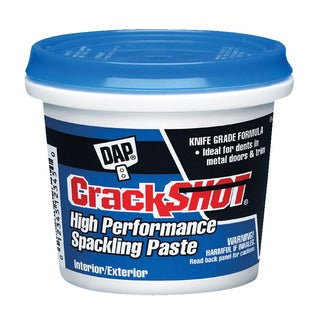 Dap 12378 1 Quart CrackShot Spackling Interior/Exterior