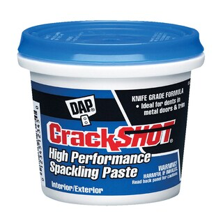 Dap 12378 1 Quart CrackShot Spackling Interior/Exterior