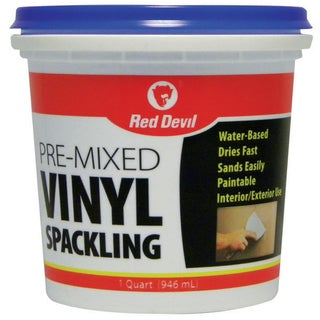 Red Devil 0534 32 Oz Vinyl Spackling Compound Interior/Exterior