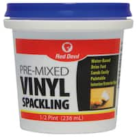 Red Devil 0532 1/2 Pint Pre-Mixed Vinyl Spackling Compound
