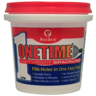 Red Devil 0542 1/2 Pint Onetime Spackling Interior