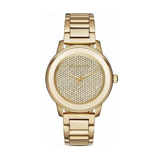 Michael Kors Women's MK6209 'Kinley' Crystal Gold-tone Stainless Steel Watch