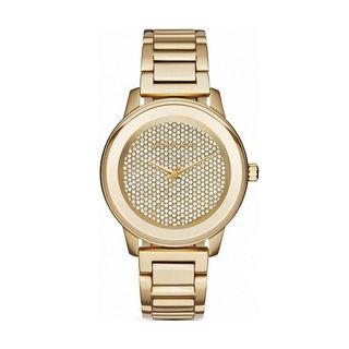 Michael Kors Women's MK6209 'Kinley' Crystal Gold-tone Stainless Steel Watch