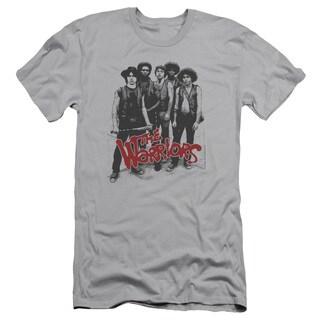 Warriors/Gang Short Sleeve Adult T-Shirt 30/1 in Silver