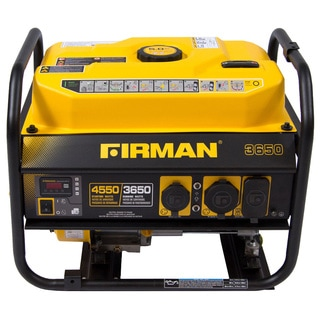 Firman Power Equipment P03601 Gas-powered 3650/4550 Watt Portable Generator