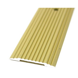 "M-D 79046 3/4"" X 36"" Satin Brass Fluted Seam Binder"