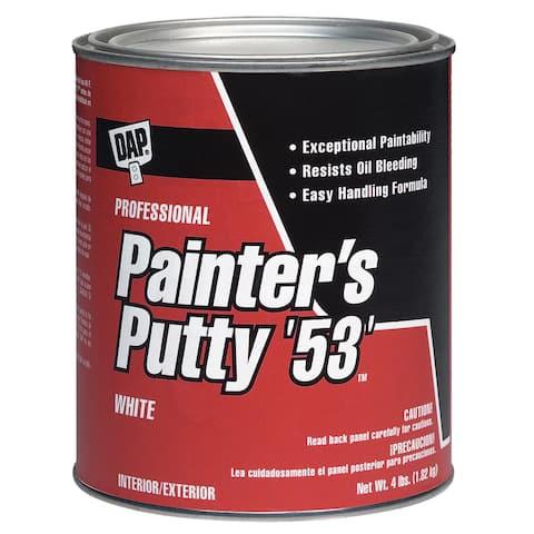 Dap 12240 1/2 Pint White Painter's Putty