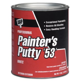 Dap 12240 1/2 Pint White Painter's Putty