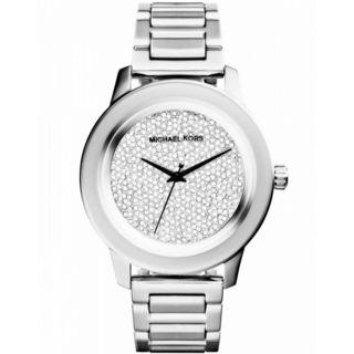 Michael Kors Women's 'Kinley' Crystal Stainless Steel Watch