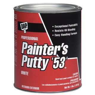 Dap 12244 1 Quart All Purpose Painter's Putty Interior/Exterior