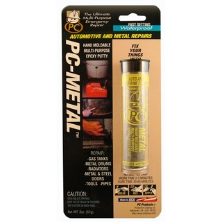PC Products 025550 2 Oz Gray Metal Putty Epoxy