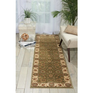 Nourison Persian Crown Green Area Rug (2'2 x 8'4)