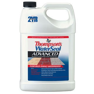 Thompsons Waterseal A11701 1 Gallon Advanced Maximum Strength One-Coat Waterproofer|https://ak1.ostkcdn.com/images/products/12430997/P19247381.jpg?impolicy=medium