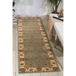 Nourison Persian Crown Blue Area Rug (2'2 x 8'4)