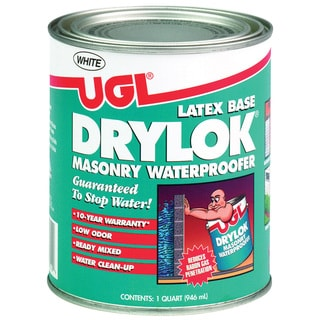 UGL 27512 1 Quart White Drylok Latex Base Masonry Waterproofer