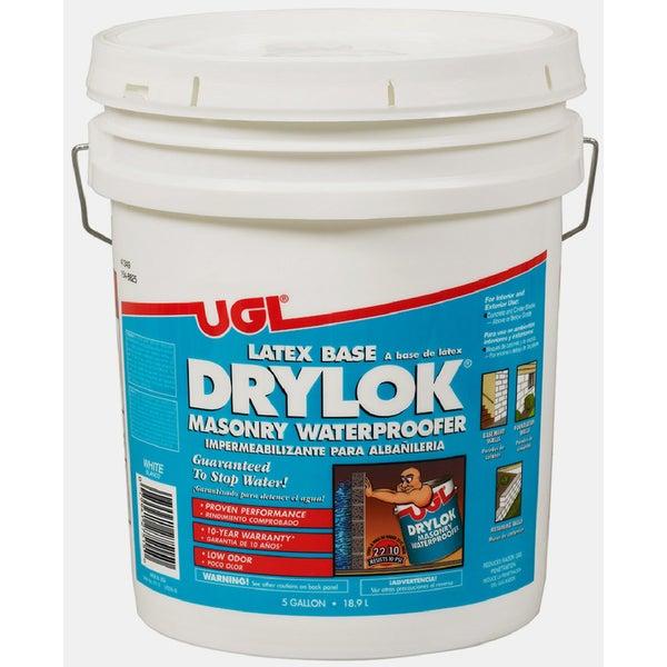 ugl 27515 5 gallon white latex base drylok masonry waterproofer free