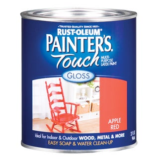 Painters Touch 1966-502 1 Quart Apple Red Painters Touch Multi-Purpose Paint