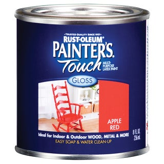 Painters Touch 1966-730 1/2 Pint Apple Red Painters Touch Multi-Purpose Paint
