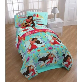 Disney Elena of Avalor Flower Power Twin 4-piece Bed in a Bag Set|https://ak1.ostkcdn.com/images/products/12431055/P19247274.jpg?impolicy=medium