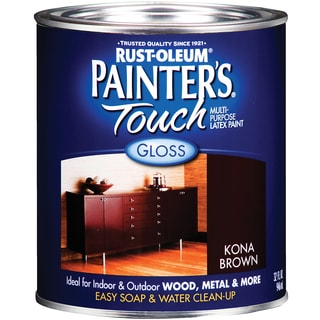 Painters Touch 1977-502 1 Quart Kona Brown Painters Touch Multi-Purpose Paint