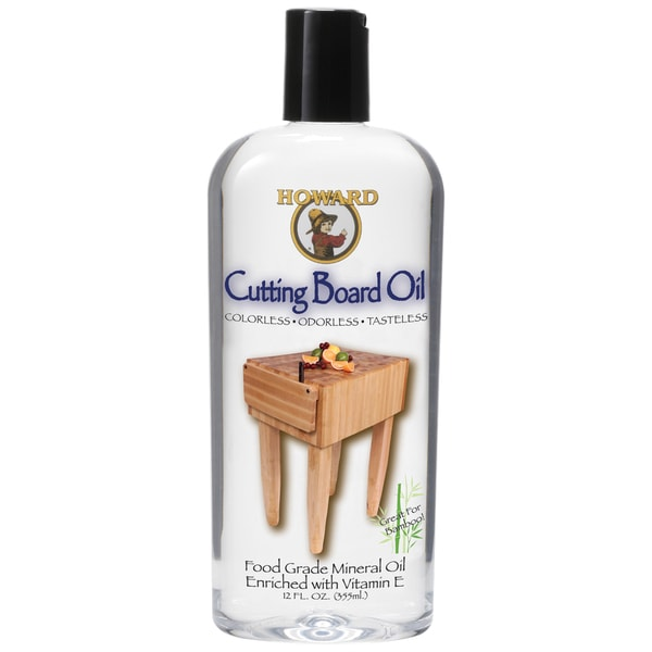 Howard BBB012 12 Oz Butcher Block & Cutting Board Oil