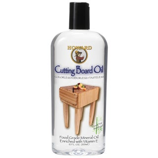 Howard BBB012 12 Oz Butcher Block & Cutting Board Oil