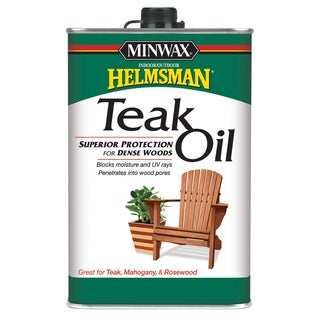 Minwax 67100 1 Quart Teak Oil