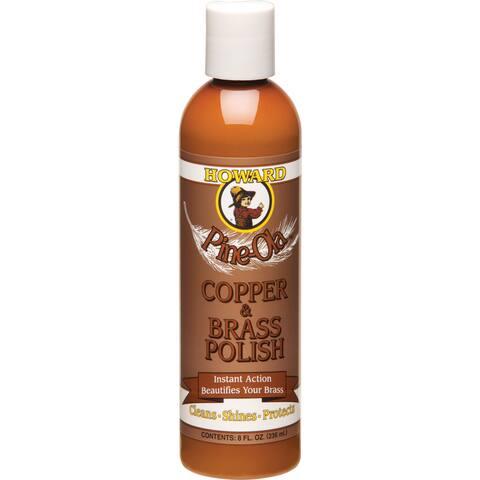 Howard CB0008 8 Oz Pine-Ola Copper & Brass Polish