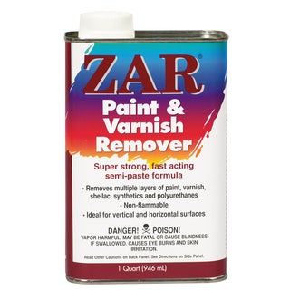 Zar 40012 1 Quart Zar Paint & Varnish Remover