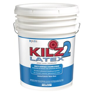 Kilz 2 Latex 20000 5 Gal White Latex Primer/Sealer/Stainblocker