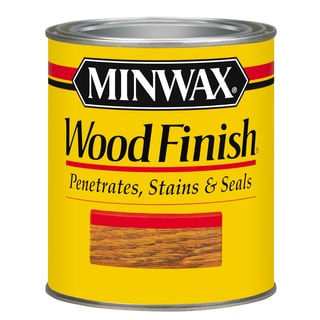Minwax 22150 1/2 Pint Red Oak Wood Finish Interior Wood Stain