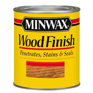 Minwax 22210 1/2 Pint Ipswich Pine Wood Finish Interior Wood Stain