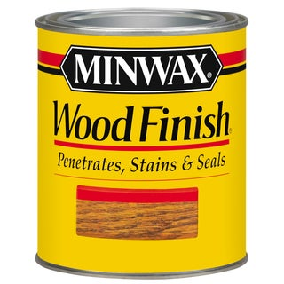 Minwax 22220 1/2 Pint Sedona Red Wood Finish Interior Wood Stain