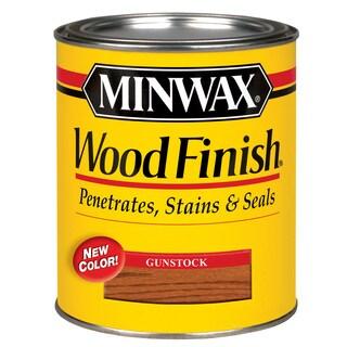 Minwax 22310 1/2 Pint Gunstock Wood Finish Interior Wood Stain