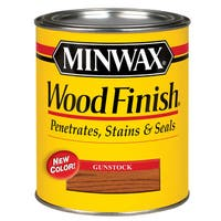 Minwax 22310 1/2 Pint Gunstock Wood Finish Interior Wood Stain