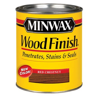 Minwax 22320 1/2 Pint Red Chestnut Wood Finish Interior Wood Stain