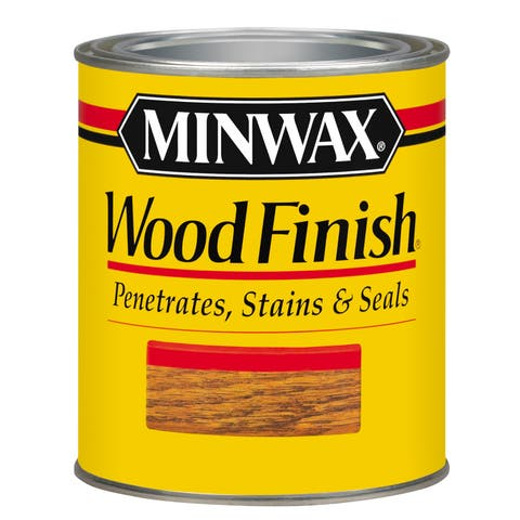 Minwax 22330 1/2 Pint English Chestnut Wood Finish Interior Wood Stain