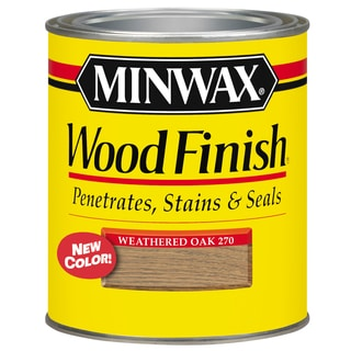 Minwax 22760 1/2 Pint Weathered Oak Interior Stain