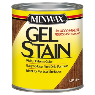 Minwax 26090 1/2 Pint Red Elm Gel Stain