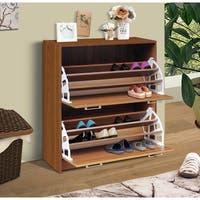 Deluxe Double Shoe Cabinet