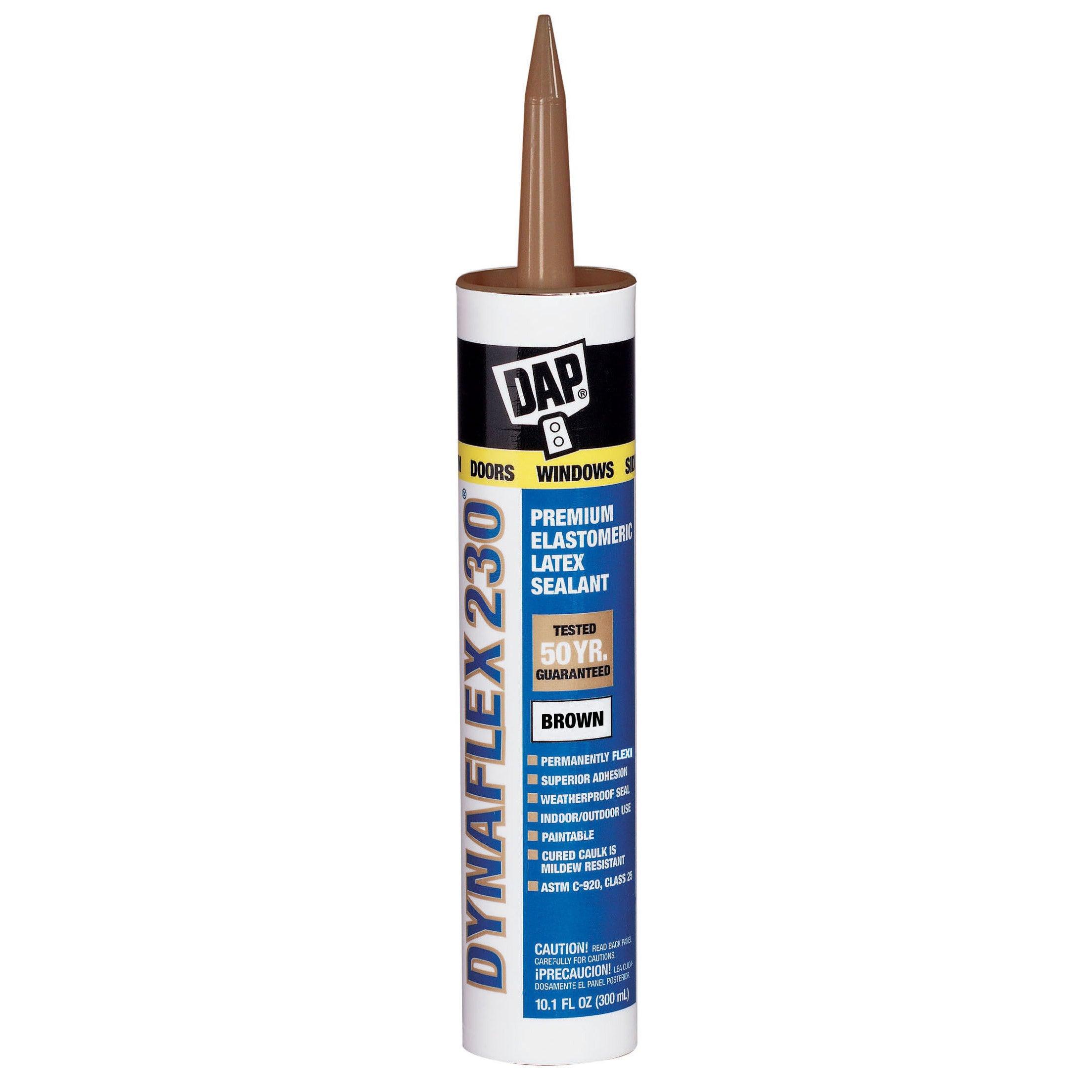 DAP 18418 Brown Dynaflex 230 Sealant (Caulking Compounds)
