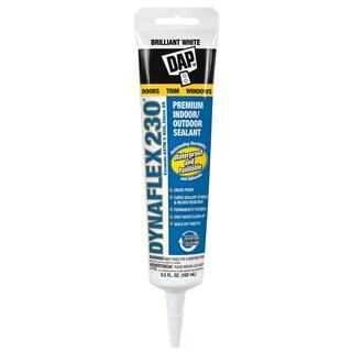Dap 18885 5.5 Oz White Dynaflex 230 Premium Indoor/Outdoor Sealant