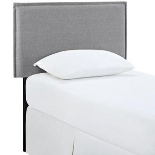 Camille Light Grey Fabric Headboard