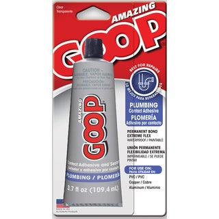 Amazing Goop 150011 Plumbing Goop Contact Adhesive & Sealant