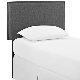 Camille Grey Fabric Headboard