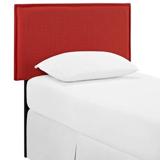 Camille Atomic Red Fabric Headboard