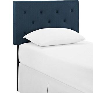 Terisa Azure Fabric Headboard