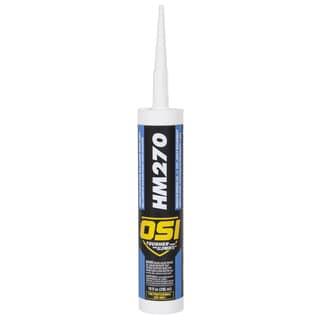 OSI Sealants 1494045 10 Oz Clear HM-270 Construction Silicone Sealant
